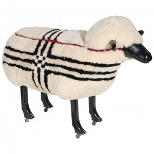 Lalanne Style Sheep Made for Burberry