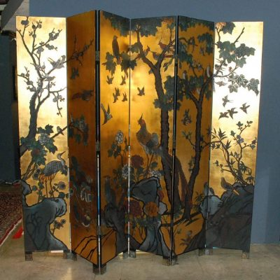 Six-Panel Folding Coromandel Screen-1