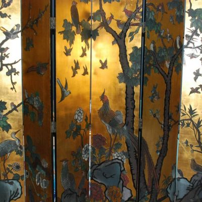 Six-Panel Folding Coromandel Screen-3