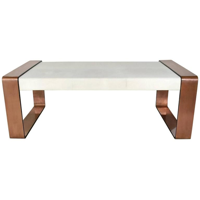 Shagreen Coffee Table at Little Paris Antiques