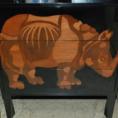 Pair-of-Lacquered-and-Wood-Inlay-Rhino-Design-Chest-of-Drawers-3