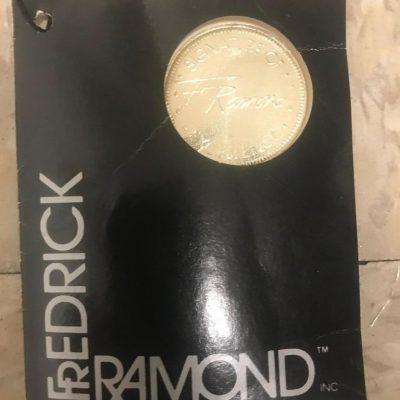 1970s Fredrick Ramond Hexagonal Chandelier